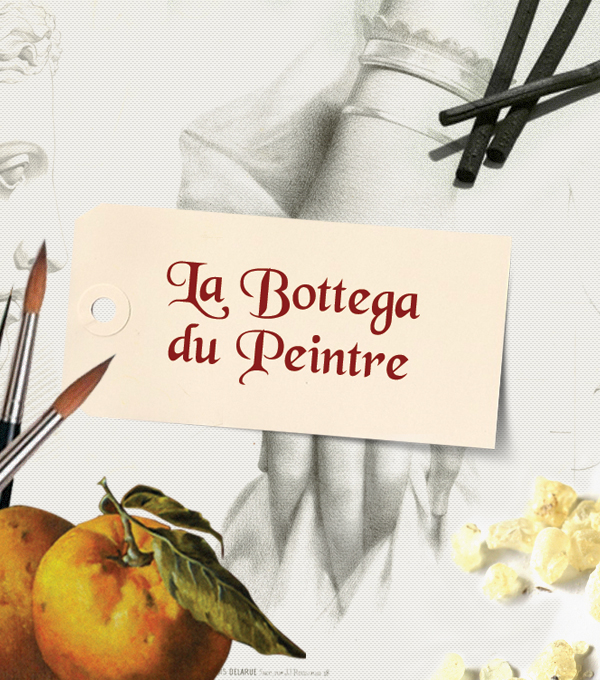 La bottega du peintre